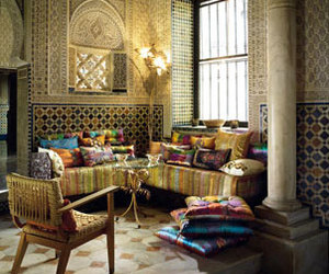 interior, morocco, and colour image