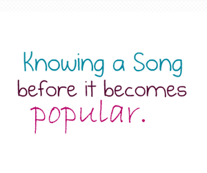 popular and song image