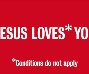 love, jesus, and quote image