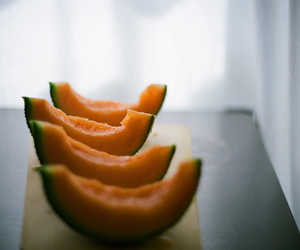 fruit, melon, and food image