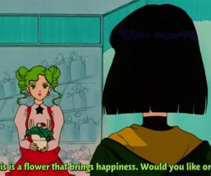 anime, sailor moon, and screencap image
