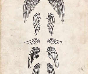 awesome, drawings, and wings image