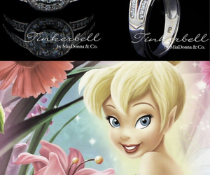 ring, disney, and tinker bell image