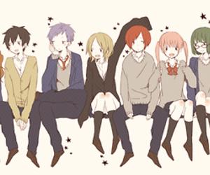 horimiya and anime image