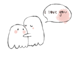 love, ghost, and cute image