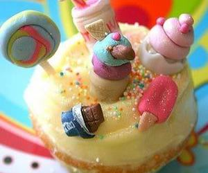 cupcake, candy, and sweet image