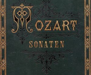 Mozart, book, and music image