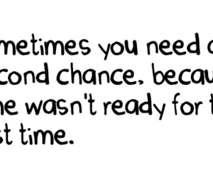 chance, quote, and time image
