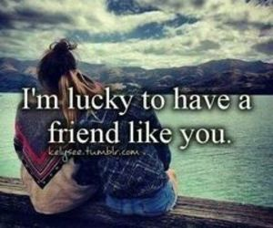friends, lucky, and love image