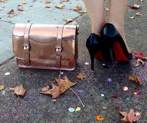 heels, louboutin, and red sole image