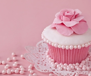 beauty, cakes, and pink image