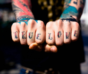 tattoo, love, and true love image