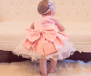 baby and pink image