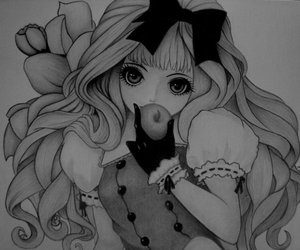anime, drawing, and kawaii image