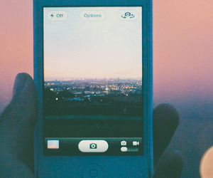 iphone, city, and photo image