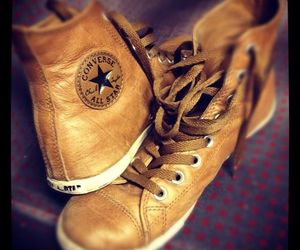converse, shoes, and leather image