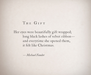 quotes, christmas, and eyes image