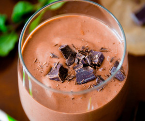 chocolate, milkshake, and drinks image