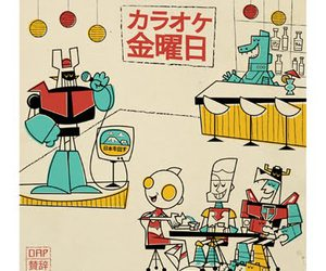 graphic, mazinger z, and illustration image