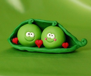 peas, pod, and sweet image