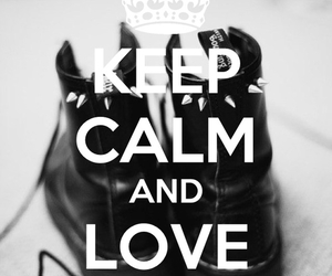 grunge, keep calm, and doc martens image