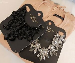 Zara, fashion, and necklace image