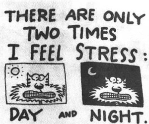 quote, stress, and day image