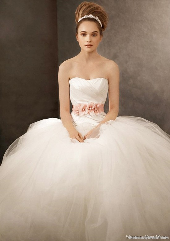 Chelsea Linton Weddings White By Vera Wang Fall 2011