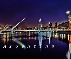 argentina, lights, and paradise image