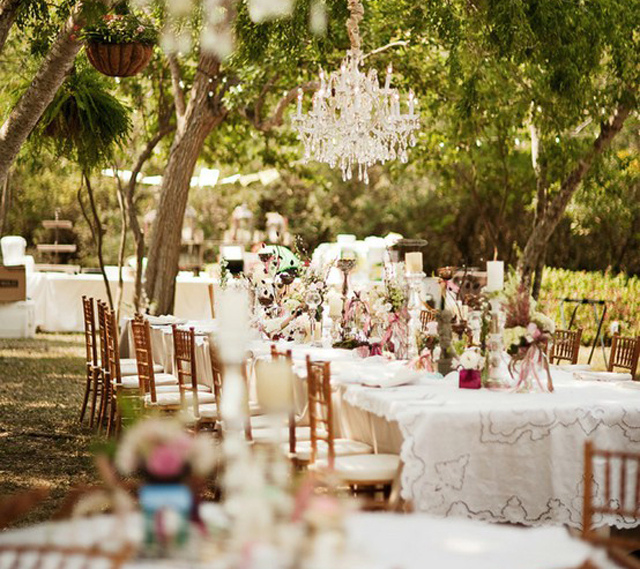 Elegant Outdoor Wedding Reception Ideas Discovered By