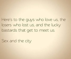 sex and the city, quote, and guy image