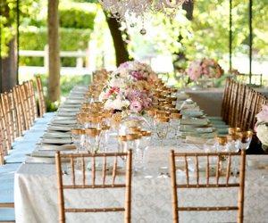 decor, ideas, and weddings image