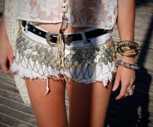 fashion, shorts, and belt image