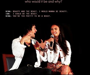 ian somerhalder, Nina Dobrev, and cute image