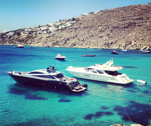 luxury, summer, and yacht image