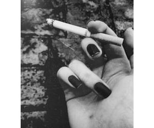 black and smoking image