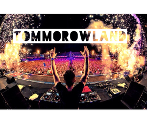 tommorowland, Dream, and music image
