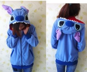 adorable, blue, and ears image