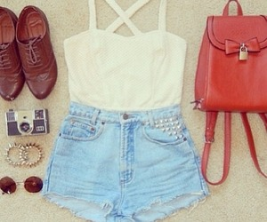 outfit, hipster, and style image
