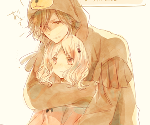 anime, cute, and couple image