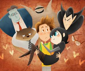 Dracula, mummy, and Frankenstein image