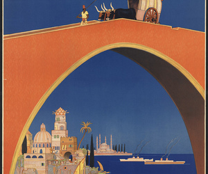 arch, travel, and travel poster image