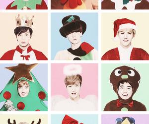 exo and christmas image