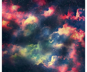 galaxy and clouds image