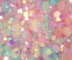 pink, pastel, and glitter image