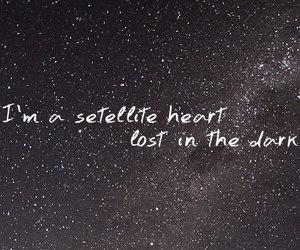 anya, heart, and satellite image