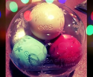 chapstick, eos, and holidays image