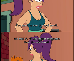 cartoon, fry, and futurama image