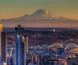 city and seattle image