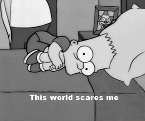 world, simpsons, and bart image